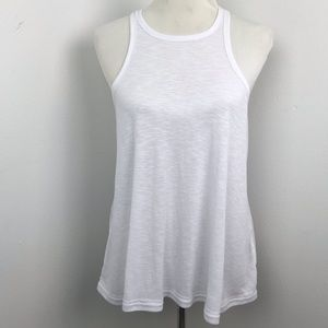 Free People Intimately White Tank Top Sz S
